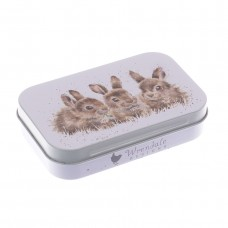 Baby rabbits Mini tin