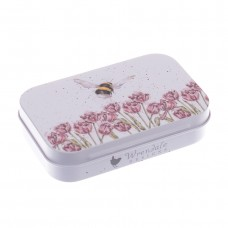 Bees and flowers Mini tin
