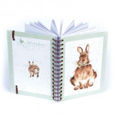 Spiral Rabbit notebook A5
