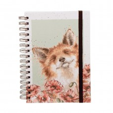 Spiral Fox notebook A5