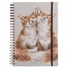 Spiral Fox notebook A4